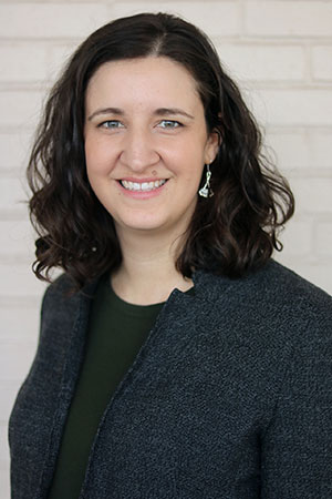 Emily Laney, the New American Pathways Director of Development