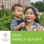 Pages from New American Pathways Annual Report 2020