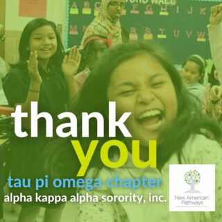 Thank you so much to the Tau Pi Omega Chapter of Alpha Kappa Alpha Sorority, Inc. @aka_taupiomega for their generous back-to-school drive donations. As we welcome students back to our afterschool program over the next couple of weeks, we are so grateful for your support and partnership!