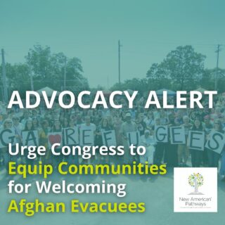 ADVOCACY ALERT: As communities like ours welcome refugees, SIVs, and humanitarian parolees from Afghanistan, we urgently ask Congress to ensure evacuees are able to find safety and stability in their new homes. Read more from the @cws_global action alert linked in our bio and contact your representatives today! . . . . #refugees #afghanistan #siv #advocate