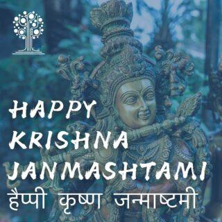 Happy Krishna Janmashtami to all who celebrate today!